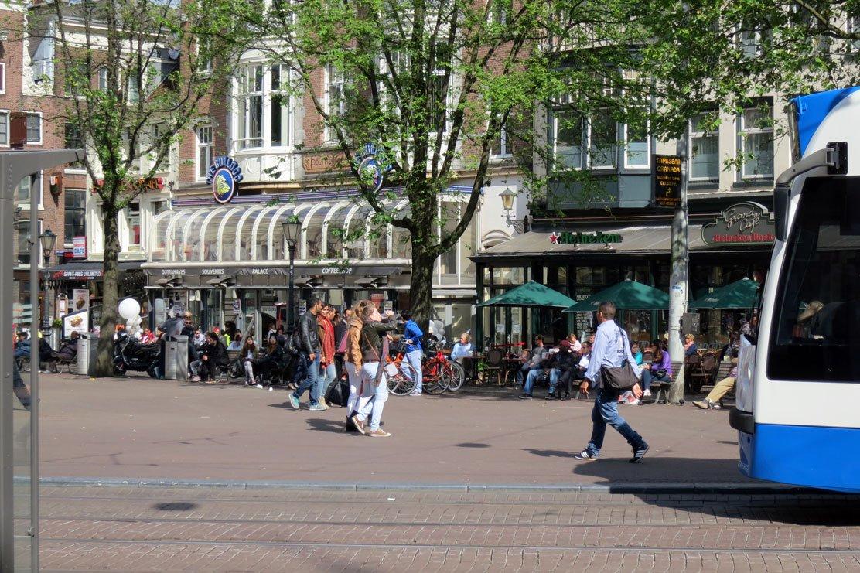 Leidse square, Amsterdam