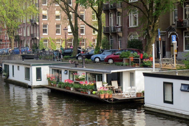 Houseboats, Amsterdam