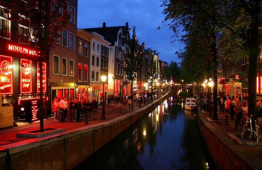 Amsterdam Red Light District Amsterdamapartments Com