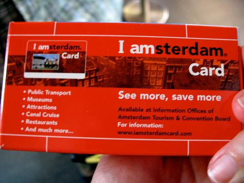 I Amsterdam City Card – A cheaper way to enjoy an action-packed short stay in Amsterdam