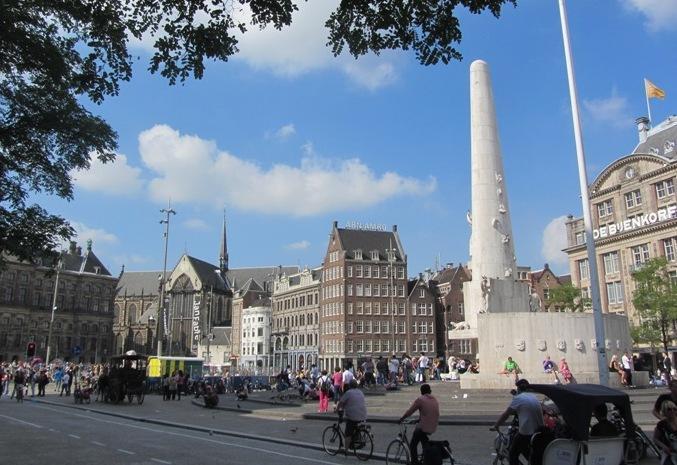 Top 5 Amsterdam Squares